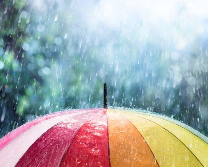 Rain in Marbella