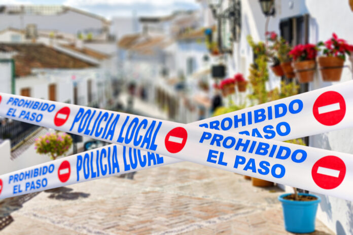 Plans to close down Andalucia this weekend