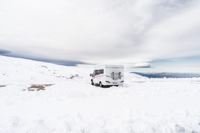Snow Covers Malaga On Sunday